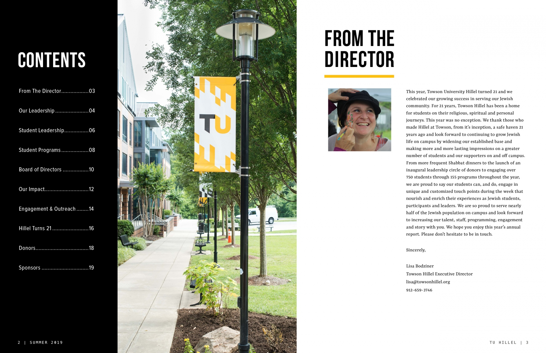 Table of Contents | From the Director