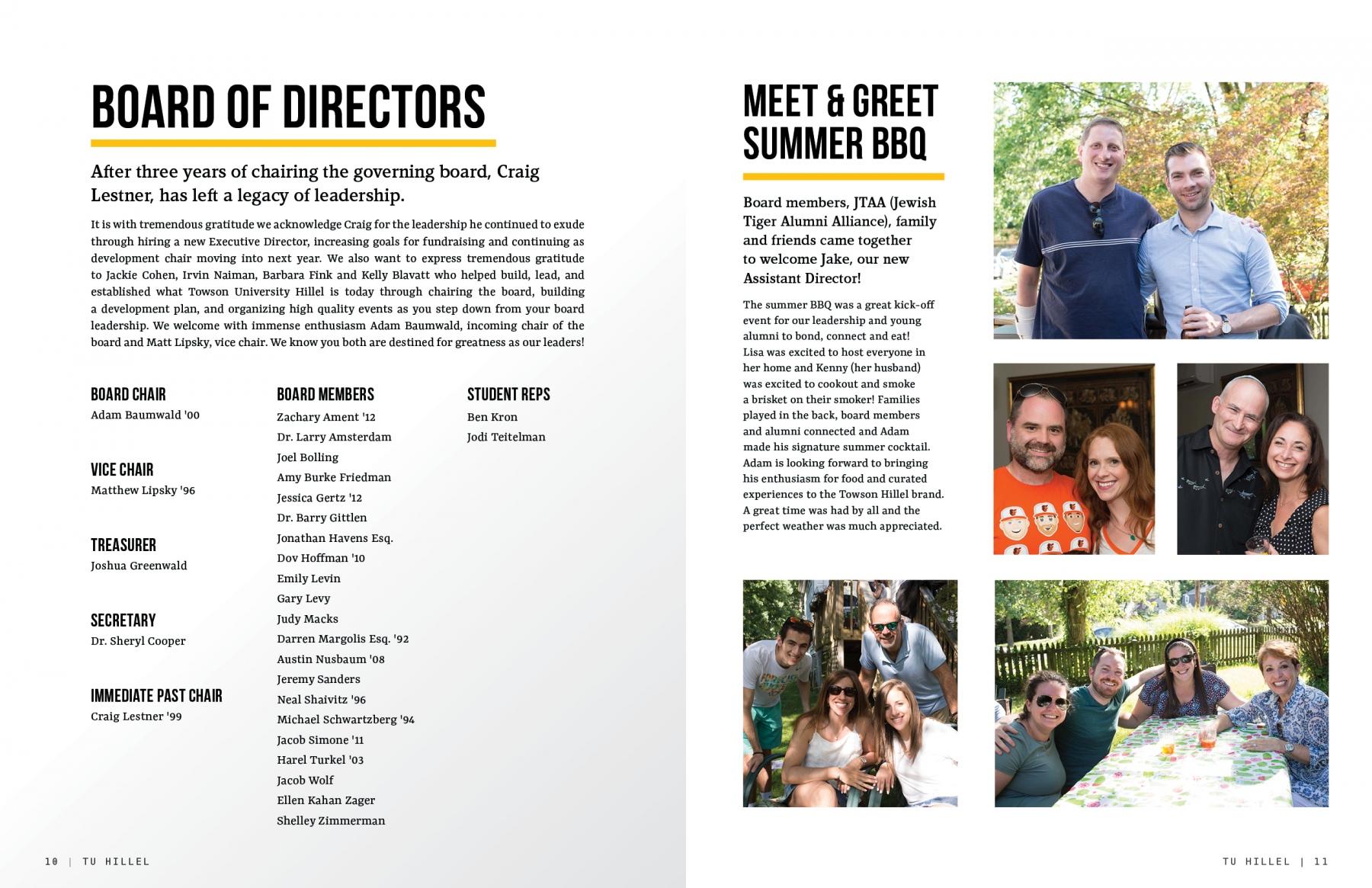 Board Members | Meet & Greet BBQ