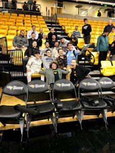 JTAA Pre-Game Reception and TU Men's Basketball Game
