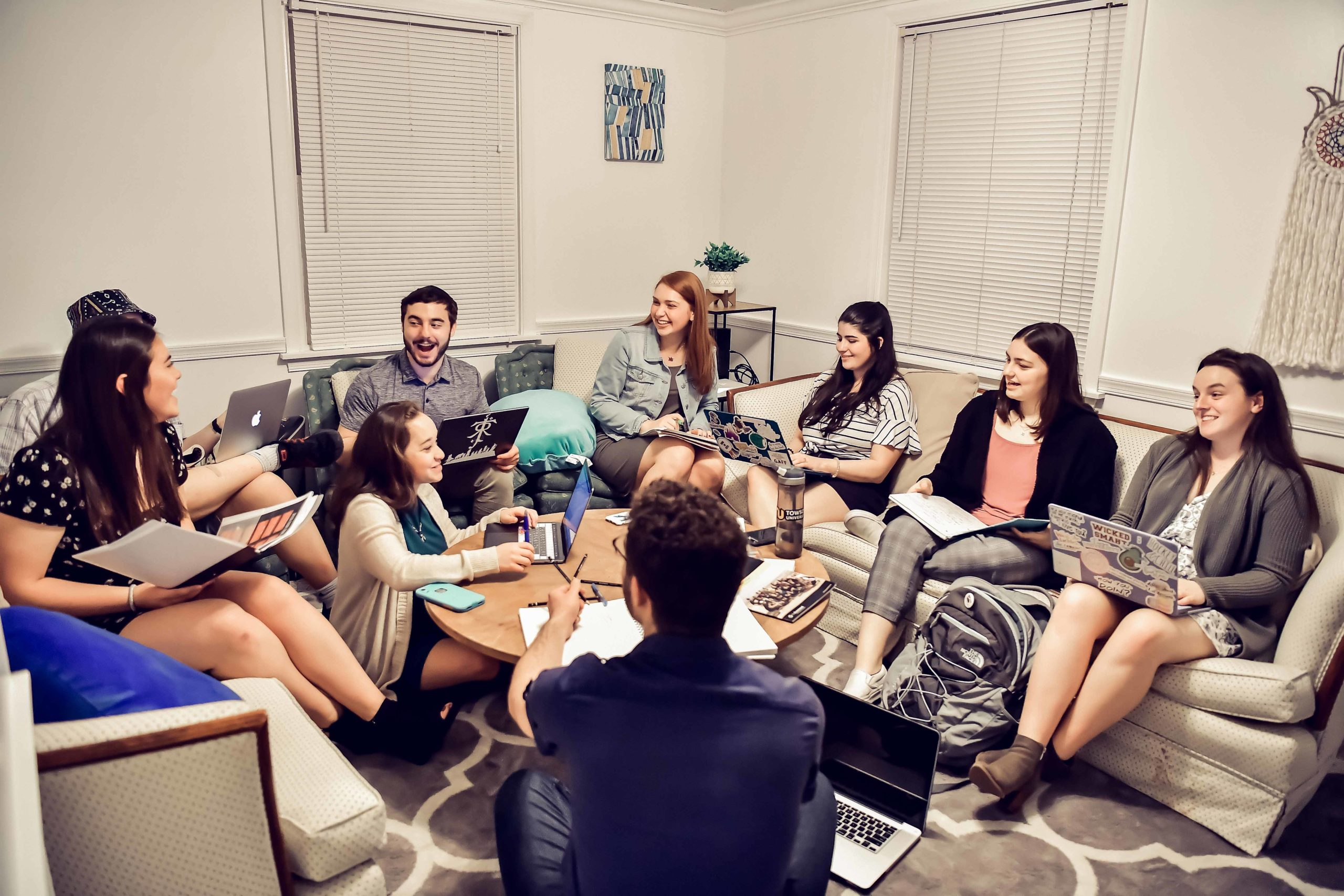 Towson University, Hillel House, Student Leaders, Meeting